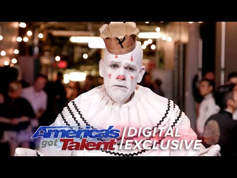 Elimination Interview: Puddles Pity Party Bids Farewell - America's Got Talent 2017