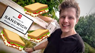 I went to Sandwich for a sandwich