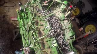 John Deere 6170r engine disassembly