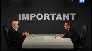"""Vladimir Voronin la emisiunea """"IMPORTANT"""" 19.04.2018"""