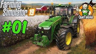 INAUGURIAMO LA NOSTRA FATTORIA   Farming Simulator 19 - Gameplay Ita - Let's Play #01