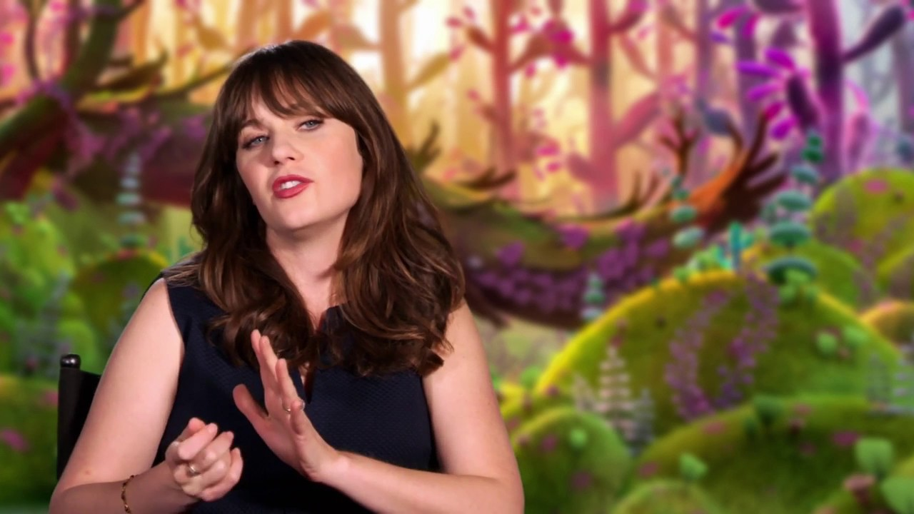 Trolls Bridget Zooey Deschanel Behind The Scenes Interview
