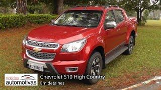 Chevrolet S10 High Country - Detalhes - NoticiasAutomotivas.com.br