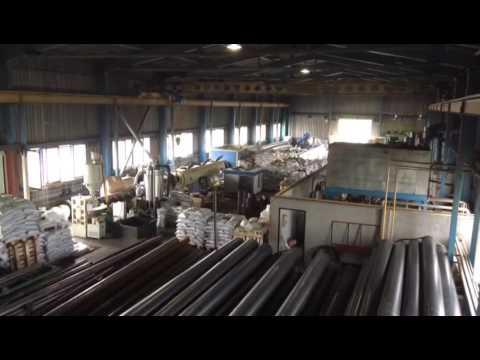 Цех завода УЗТИ по производству ПЭ оболочки
