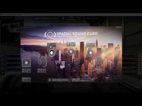 Spatial Sound Card - Parameter Tour