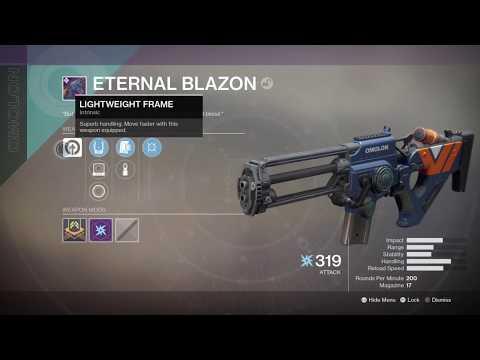 Destiny 2 Curse Of Osiris- Eternal Blazon New Legendary Omolon Scout Rifle