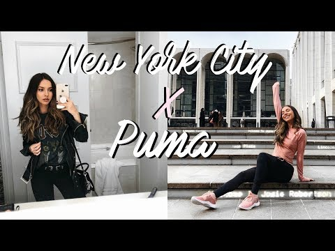 MY FIRST TIME IN NEW YORK CITY   TRAVEL VLOG