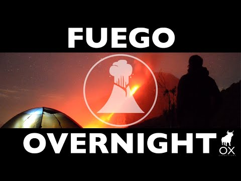 FUEGO Overnight Volcano tour: (OX Expeditions)