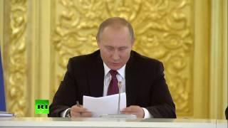 Путин о переданном ему постановлении суда  «Волосы дыбом встают»