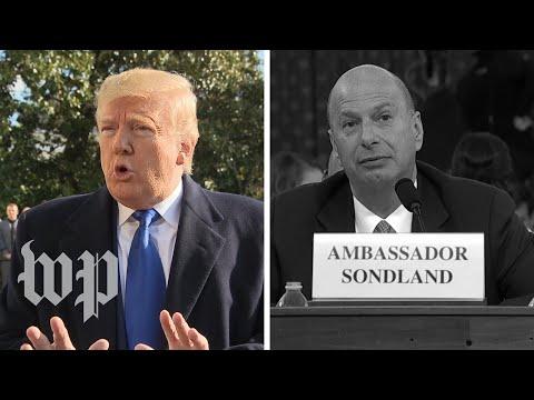How Gordon Sondland undercut Trump's defenses