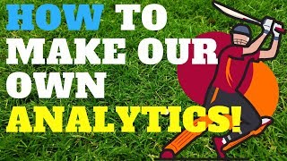 How to make our own analytics? for cricketers | A NEW guide for players | latest cricket tips!!