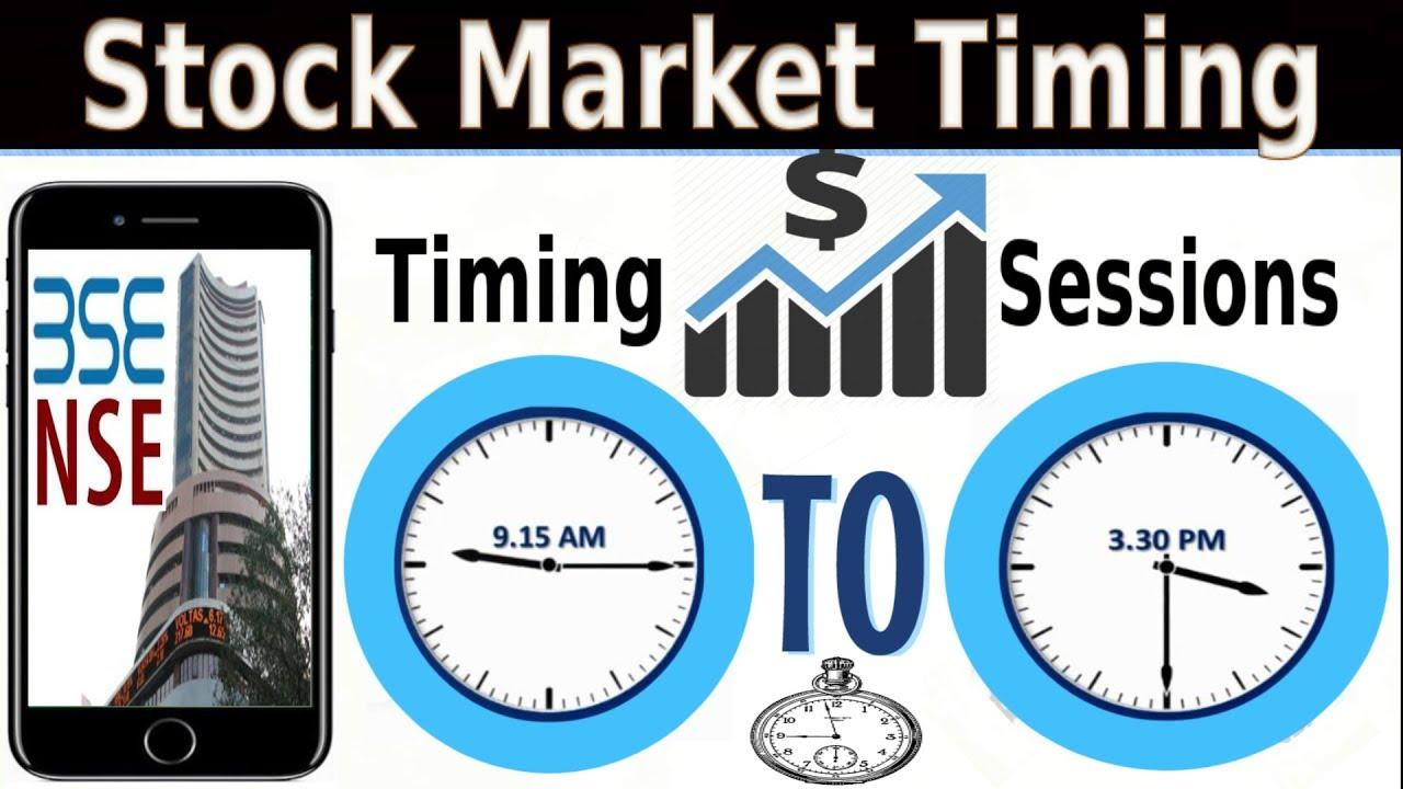Indian stock market timings форекс стратегии советники бесплатно