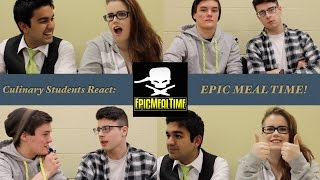 Epic Meal Time! | Culinary Students React! S1/Ep6