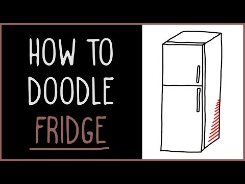 Learn How to Doodle a Fridge (drawing tips)