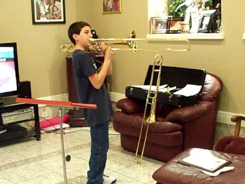 trombone solo fight song
