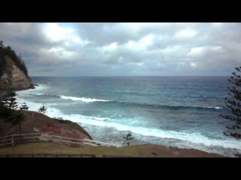Norfolk Island Trip day 1 Bloody Bridge view