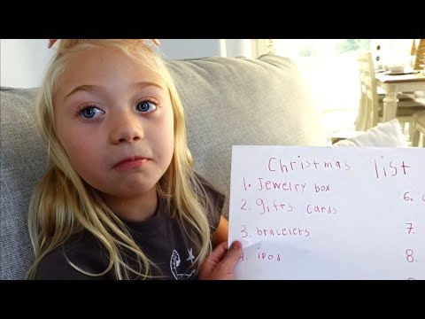 We Found Everleigh&39;s SECRET Christmas List To Santa