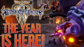 WE'RE NOW IN THE YEAR OF KINGDOM HEARTS 3!