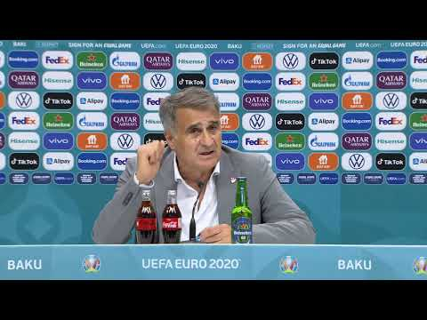 Turkey 0-2 Wales - Şenol Güneş - Post-Match Press Conference - Euro 2020