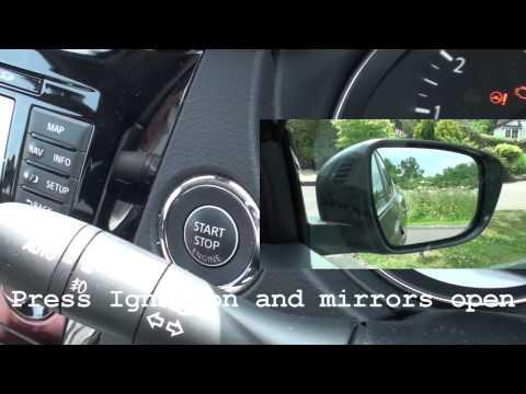 Qashqai 2014 KIT автоматическое открытие закрытие зеркал заднего вида
