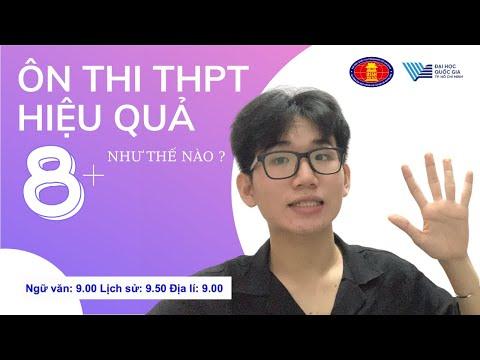 Thi THPTQG 8+ có khó?   Kinh nghiệm thi ĐẠI HỌC đạt điểm cao! #thptqg #ussh #khoiC