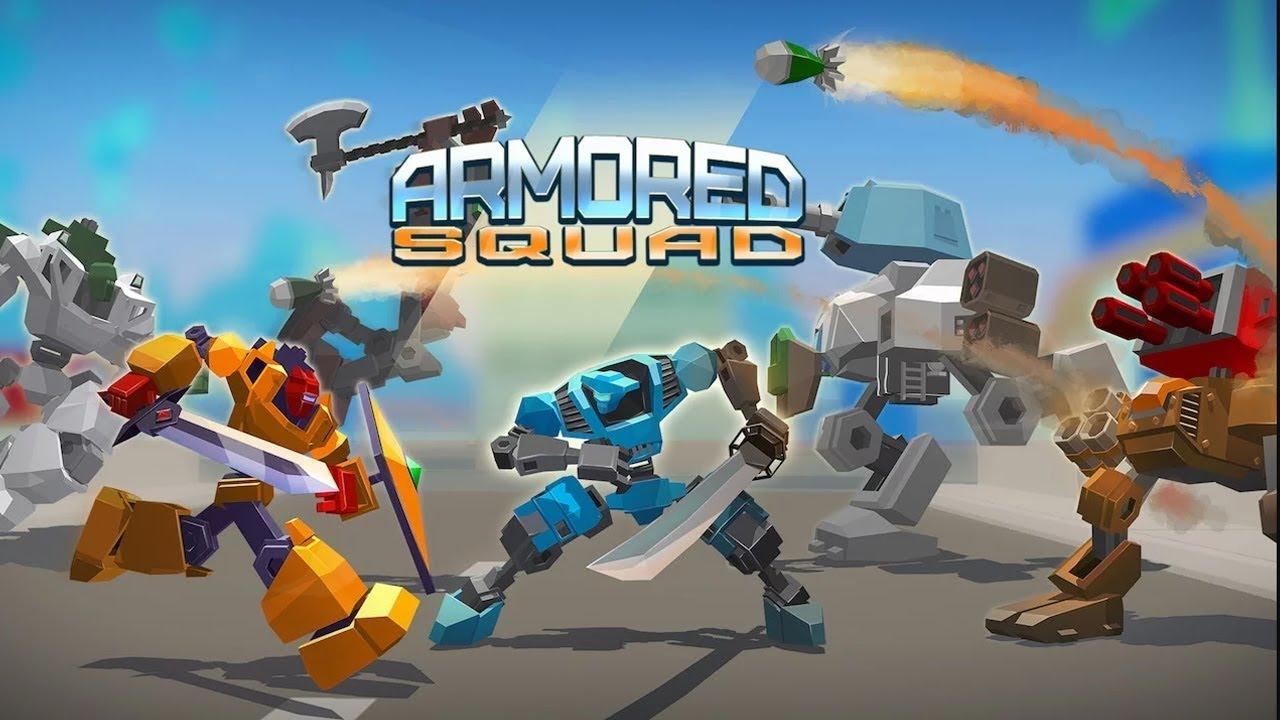 Robot Siêu To Siêu Khổng Lồ Đại Chiến Với Nhau – Top Game Hay Mỗi – Armored Squad Ngày –