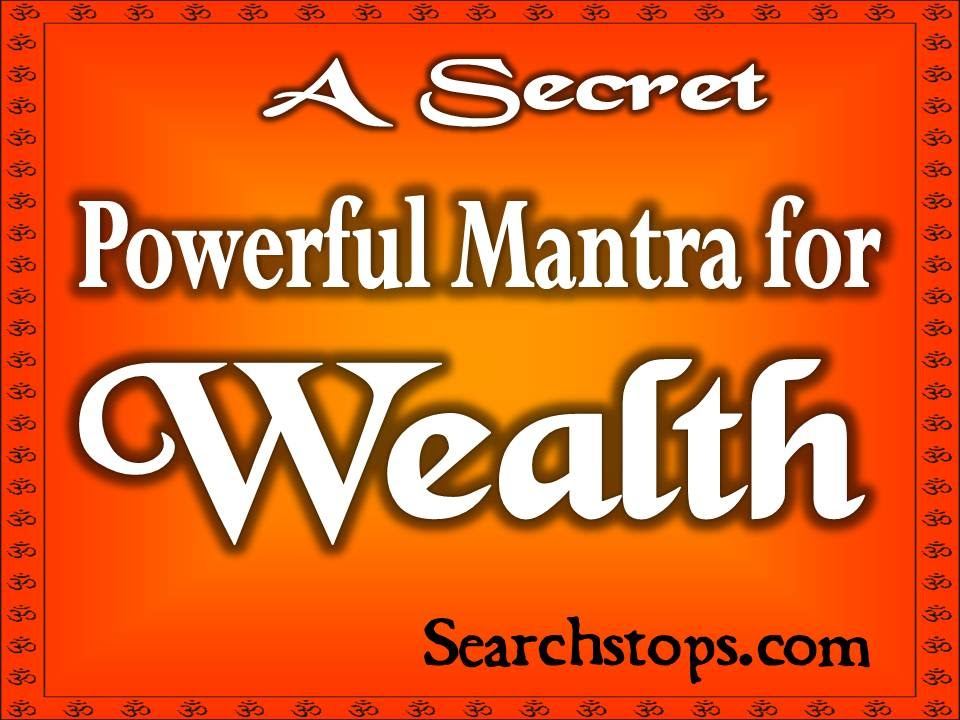 Mantra for Money - Mantra for Prosperity and wealth, Mantra for  business-profits