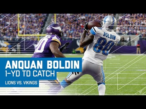 Matthew Stafford Finds Anquan Boldin in the Red Zone for a TD! | Lions vs. Vikings | NFL