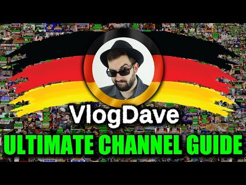 Learn German with VlogDave - THE ULTIMATE GUIDE! | Full Channel & Playlist Tour