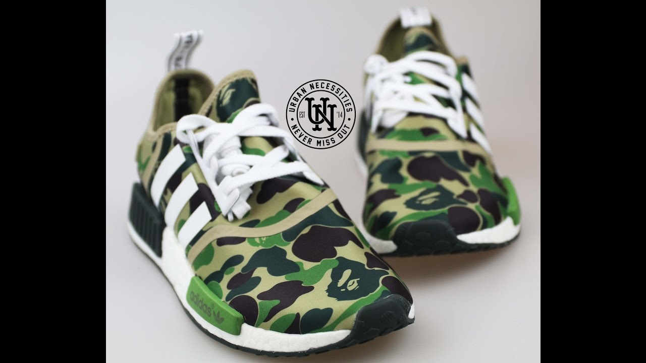3fa2158bc2de3 Adidas NMD X BAPE Review with Collective Kicks - YouTube