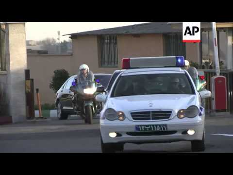 EU foreign affairs chief Ashton arrives in Tehran