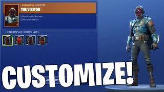 How to CUSTOMIZE the NEW BLOCKBUSTER SKIN! (Fortnite)