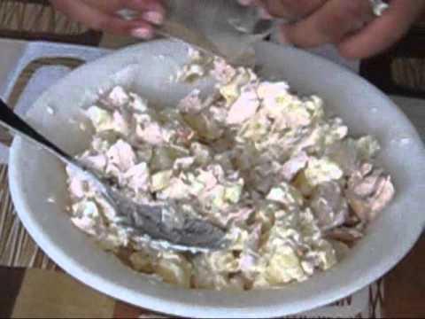 Ensalada de papas con pollo youtube - Ensalada de arroz con atun ...