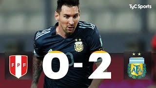Perú 0 vs. Argentina 2 | Eliminatorias Qatar 2022 - Fecha 4