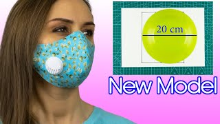 How to Make a Face Mask With a Filter No Fog on Glasses Face Mask Pattern