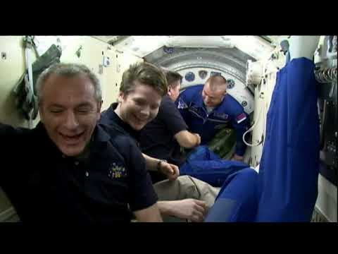 Trio of astronauts welcomed aboard International Space Station