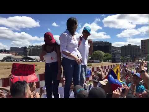 María Corina Machado: Hoy todos estamos unidos bajo un solo grito: No hay vuelta atrás