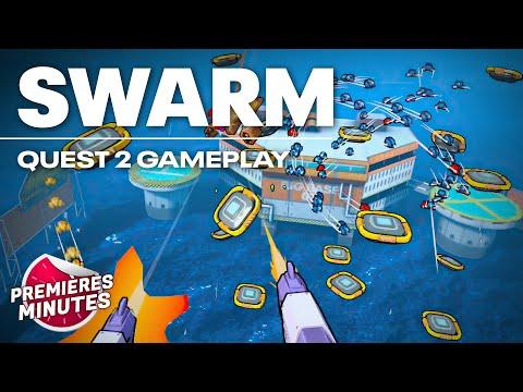 Swarm - Gameplay Oculus Quest | Quest 2