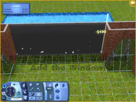 Sims 3 making pool designs youtube for Pool design sims 3
