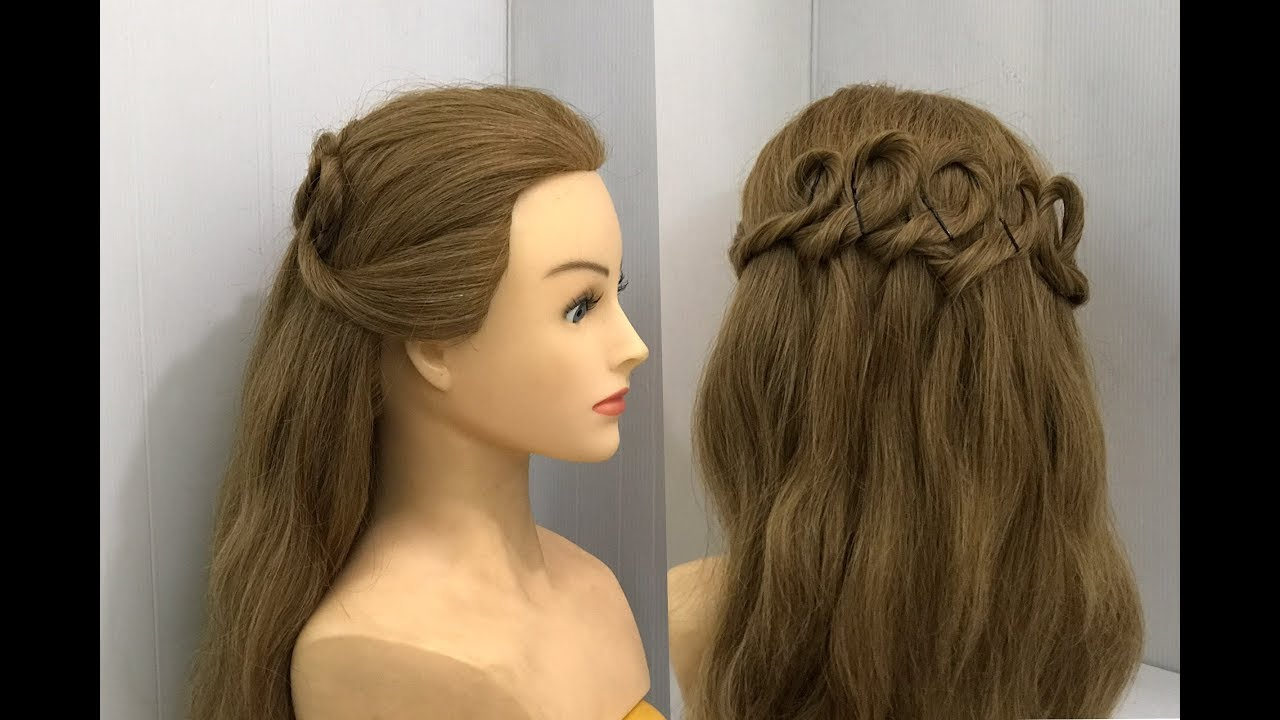 Hairstyles | Easy Half Up & ponytail Hairstyles