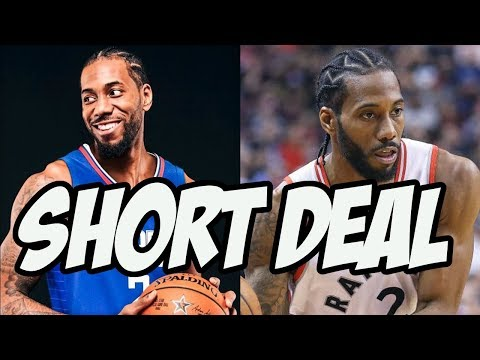 What Does Kawhi Leonard's Short Contract Mean For The Clippers?