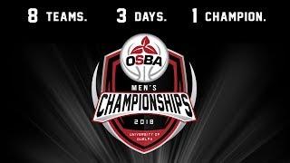 OSBA Men's 3rd Place Game: #1 Orangeville Prep vs. #3 Athlete Institute Prep thumbnail