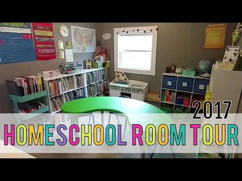 Homeschool Room Tour
