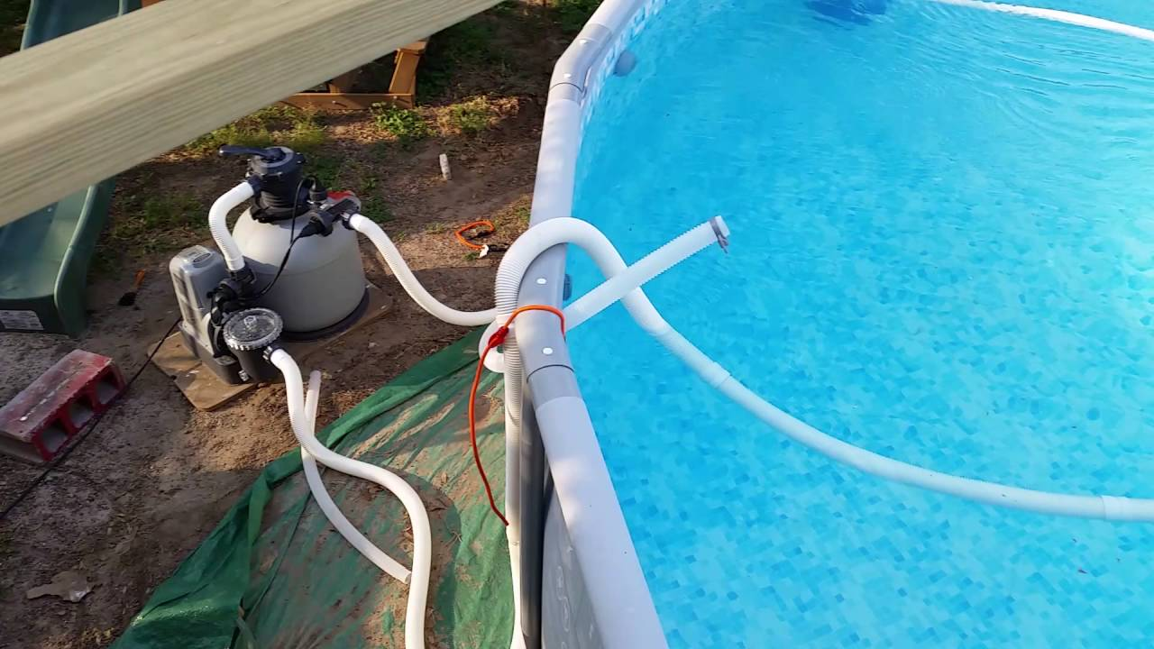 Review 49 Automatic Pool Cleaner G7 Suction Side Vacuum Cleaner Intex Salt System Youtube