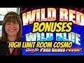 QUICK HIT WILD RED AND BLUE BONUSES