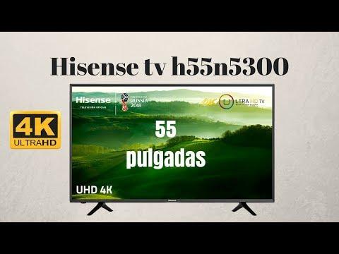 Hisense Smart TV 4K 55 Pulgadas