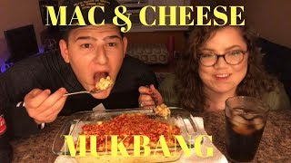 HOT CHEETOS MAC & CHEESE MUKBANG | MIKE & MORG