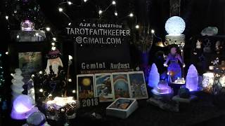 COMMUNICATION brings good news Solutions provided Gemini August 24th Weekend Psychic Tarot card read