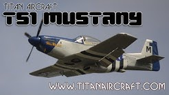 Titan T51, Titan Aircraft T 51 Mustang scale replica experimental aircraft.