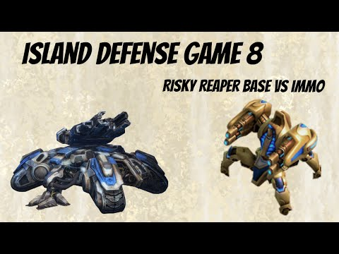 Starcraft 2 Arcade Island Defense - Builder - Game 8 - Reaper